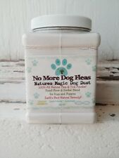 Natural Flea & Tick Treatment Powder Preventative Dogs, Puppies Herbal DE Blend