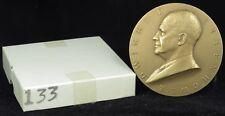 """U.S. Mint Medal No. 133 President Dwight D. Eisenhower First Term  3"""" Bronze"""