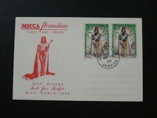 Miss World 1963 FDC Jamaica 65282