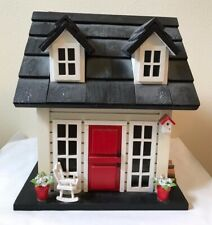Country Nests Nids de Campagne Wood Cottage Bird House Handmade Miniature 1:12