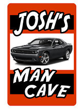PERSONALIZED SIGN YOUR NAME DODGE DURABLE ALUMINUM FULL COLOR CUSTOM Sign DD#168
