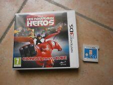 Jeu Nintendo 3DS Les Nouveaux Heros combat ds la baie pour console portable 3DS