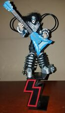 Mcfarlane toys Kiss Ace Frehley! ultra action figure! Rock and Roll! + S stand!