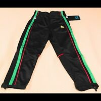 RBX Little Boys Victory Tricot Pant Midnight Classic Green Red Stripes Small S 4