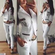Zweiteilige Damen-Anzüge & -Kombinationen im Hosenanzug-Stil aus Polyester