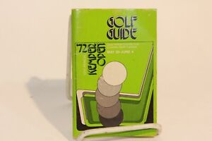 1972 5th Annual Kimper Open Golf Guide Quail Hollow Charlotte NC 97 Pgs Booklet