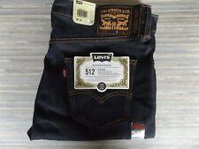 Men's Levi Strauss & Co. 512 Skateboarding Slim Tapered Blue Jeans W36 L34 BNWT