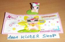 KINDER DE158 DE 158 WINX LOVE & PET COCO + BPZ