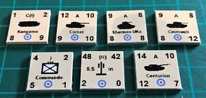 Panzer Leader Unofficial guide counters set (of 185), for Avalon Hill, option B