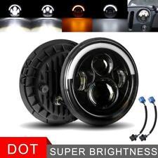 7 Inch LED Headlight Halo Round HI/LO Sealed Beam for Chevrolet Chevy Van Pickup