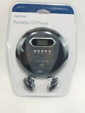 New listing Insignia Ns-P4112 Portable Cd Player w/ Headphones Black Brand New In Package