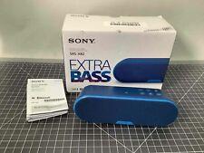 Sony Srs-Xb2 Extra Bass Wireless Bluetooth Audio System Blue