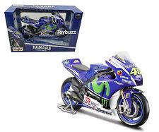 Maisto 1:10 MOTO GP 2015 Yamaha YZR M1 MOVISTAR Monster 46 Valentino Rossi 31407