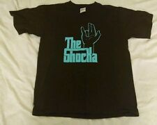 The Shocka Shocker Sayings T-shirt medium brown offensive funny inappropriate