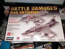 Lindberg BATTLE DAMAGED A4D SKYHAWK Aircraft Model Kit 1/72 NEW see pics
