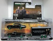 Greenlight Supernatural Impala - Chevy Pickup & Trailer Set* Green Machine *1/64