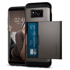Spigen® Samsung Galaxy S8 / S8 Plus [Slim Armor CS] Shockproof Wallet Case Cover