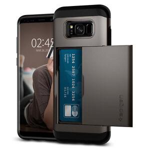 Spigen®Samsung Galaxy S8 / S8 Plus [Slim Armor CS] Shockproof Wallet Case Cover