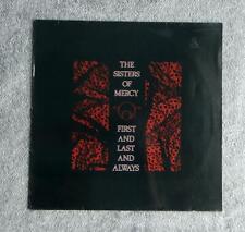 Sisters Of Mercy, First & Last & Always, Orig UK MR LP+Inner, VG+/VG+ 1st Press.