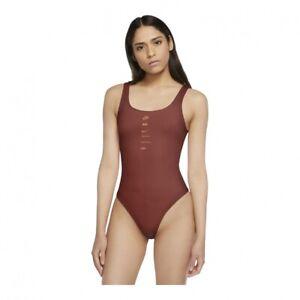 Nike Women's Sportswear Swoosh Bodysuit CU5672-895 Size Small NWT