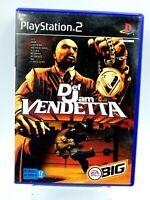 PS2 DEF D'JAM VENDETTA EA big Jeu Playstation 2 vintage retrogaming