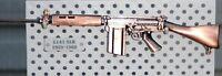 1/6 SCALE AUSTRALIAN ARMY L1A1 SLR RIFLE - DIE CAST ZINC, DIGGER VIETNAM ERA