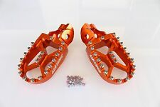 AIRTIME BILLET CNC WIDE FAT FOOT PEGS KTM 450SXF FACTORY EDITION 2015-2018 -5516