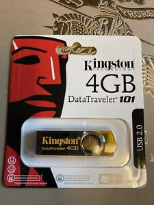 Kingston Datatraveler 101 4gb Usb2.0 Flash Drive Storage