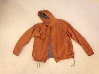 Cabela's Men's Outdoor Gear Nylon Waterproof Hooded Jacket Windbreaker Size L
