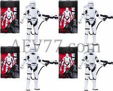 "Hasbro Star Wars BLACK Series Wave 5 Force Awakens 6"" FLAMETROOPER Set of (4)"