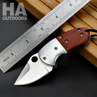 Folding knife mini small pocket gift hunting blade camping outdoor tool F95