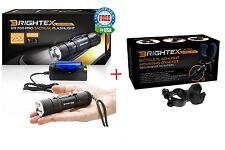 Brightex XR-700 Powerful Bicycle Light: Small Tactical Flashlight Kit w/18650