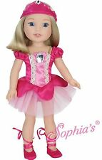 Ballerina, Slippers & Headpiece fits American Girl Wellie Wishers Doll Clothes