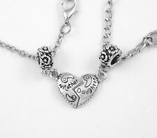 Mother daughter necklace set European style best jewelry gift  2 necklace gift
