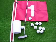 Golfschläger   ( Putter ) + 12 Srixon Shark Golfbälle +  Golffahne