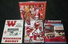 1987 1995 2006 Wisconsin Badger Hockey Programs College Showcase