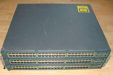 Lot of 2 Cisco Catalyst 3500XL WS-C3548-XL-EN Network Switch