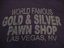 World Famous Gold & Silver Pawn Shop Las Vegas NV Souvenir T Shirt M