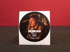 "Walking Dead ""Countdown 2012"" Collectible New Get Glue Sticker NLA Daryl Dixon"