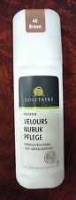 75ml(6,47€/100ml) Solitaire Velours Nubuk Pflege Wildleder Farbpflege Schutz