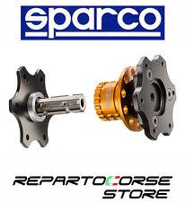 Mozzo Volante Sportivo SPARCO a sgancio rapido - 015R96NR - quick relase
