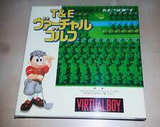 Nintendo Virtual Boy Game Virtual Golf Japan BRAND NEW MIB