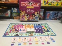 MONOPOLY JUNIOR DISNEY PRINCESS EDITION GAME REPLACEMENT PARTS/PIECES