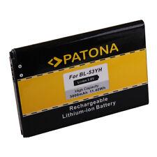 Batterie PATONA pour LG D855 G3 F400 BL-53YH