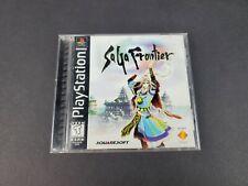 SaGa Frontier (PlayStation 1 PS1, 1998) Original Game Case w/Manual ☆NO GAME☆