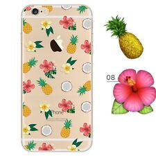 iPhone SE/5s/5 Cover Hülle Case Bumper Silikon TPU Schutzhülle Motiv 8  Aus🇩🇪