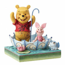 Disney Traditions Winnie The Pooh & Piglet Figurine 4054279 Brand New & Boxed