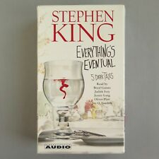 Stephen King EVERYTHING'S EVENTUAL 6 CASSETTE AUDIO BOOK   7.5 hours   2002