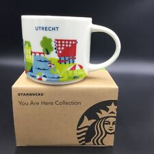 Starbucks Utrecht YAH Mug Netherlands Canal Coffee Cup You Are Here New