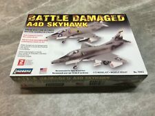 Lindberg 1/72 scale A4D Skyhawk jet airplane model kit